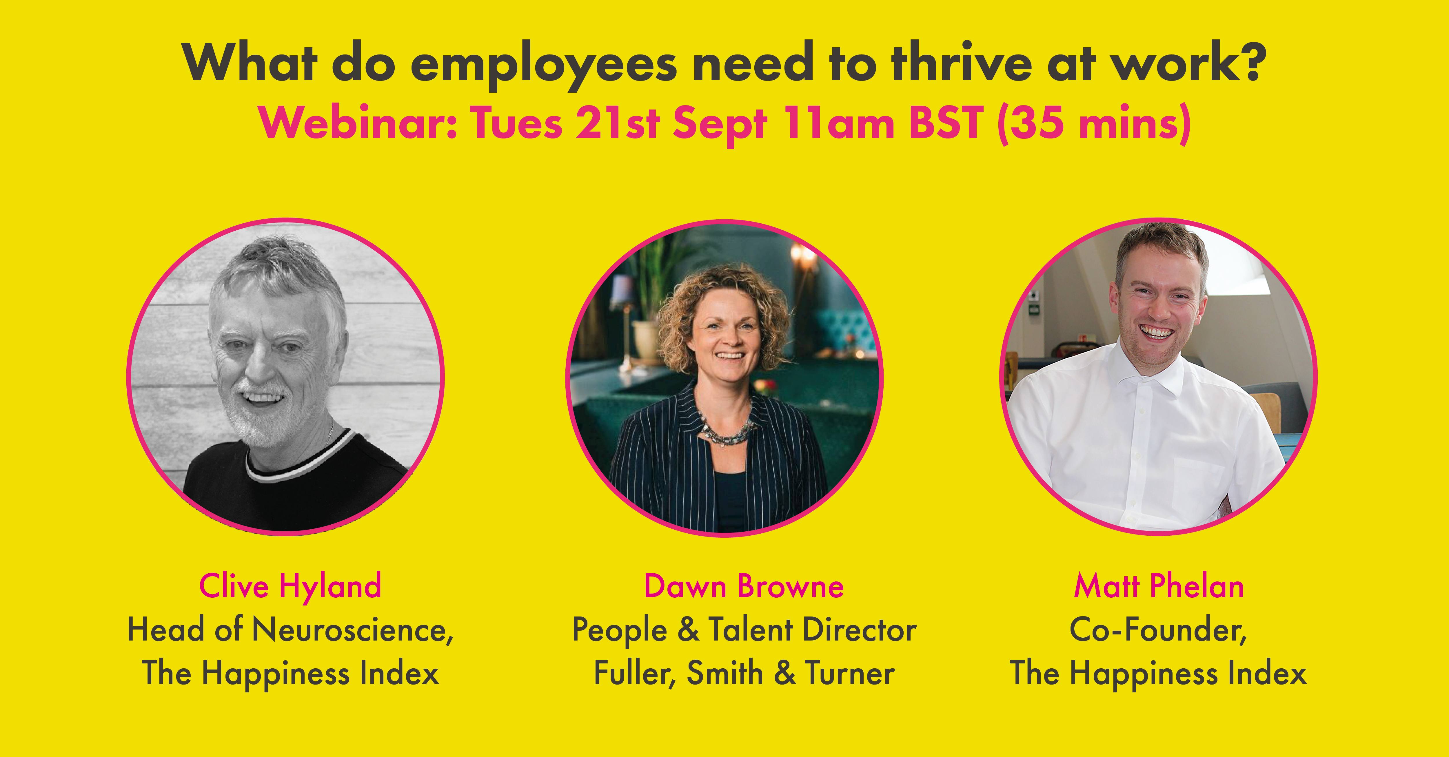 What do employees need to thrive at work banner